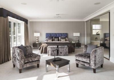 Cedars master bed